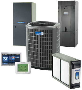 American Standard Air Conditioners, Furnaces and Heat Pumps