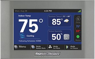 American Standard ThermostatforIAQ