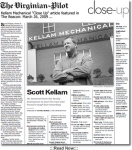 The Virginian-Pilot article on Scott Kellam