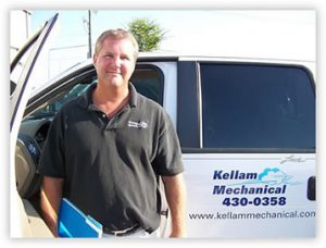 Kellam Mechanical President, Scott Kellam