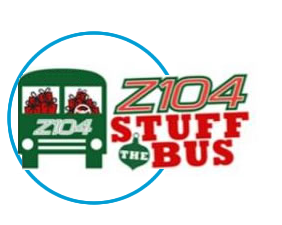 Z104 Stuff the Bus Toy Drive