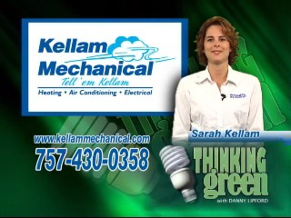 Go Green Kellam Mechanical thinking green