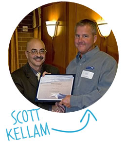 Dan Baxter and Scott Kellam