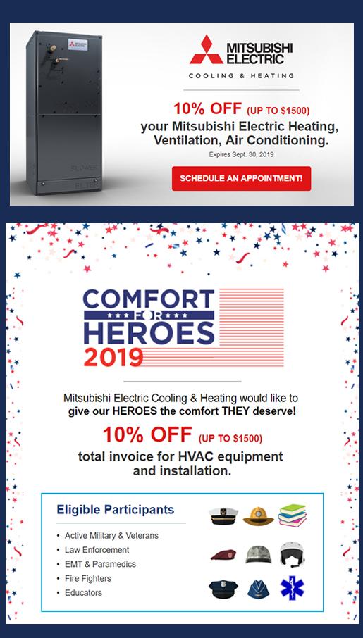 Kellam Mechanical Comfort for Heroes discount