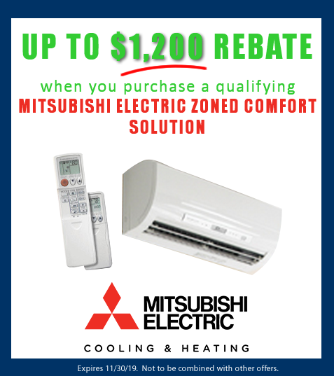 Mitsubishi Electric zoned comfort solution