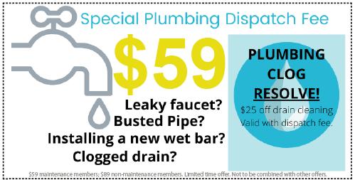 Plumbing Dispatch Deal